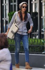 MERCEDES MASON on the Set of Fear the Walking Dead in Vancouver 05/10/2015