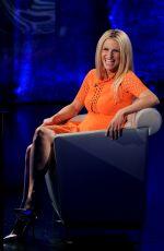 MICHELLE HUNZIKER at Che Tempo Che Fa, Italian TV Show