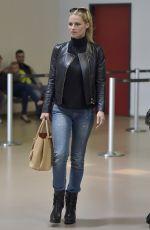 MICHELLE HUNZIKER at Tegel Airport in Berlin 05/19/2015