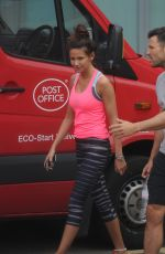 MICHELLE KEEGAN Leaves a Gym in Essex 05/01/2015