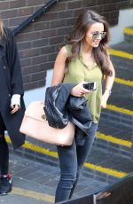 MICHELLE KEEGAN Out and About in London 05/05/2015