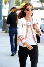 MICHELLE MONAGHAN Out and About in Los Angeles 05/27/2015