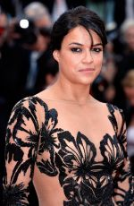 MICHELLE RODRIGUEZ at Mad Max: Fury Road Premiere in Cannes