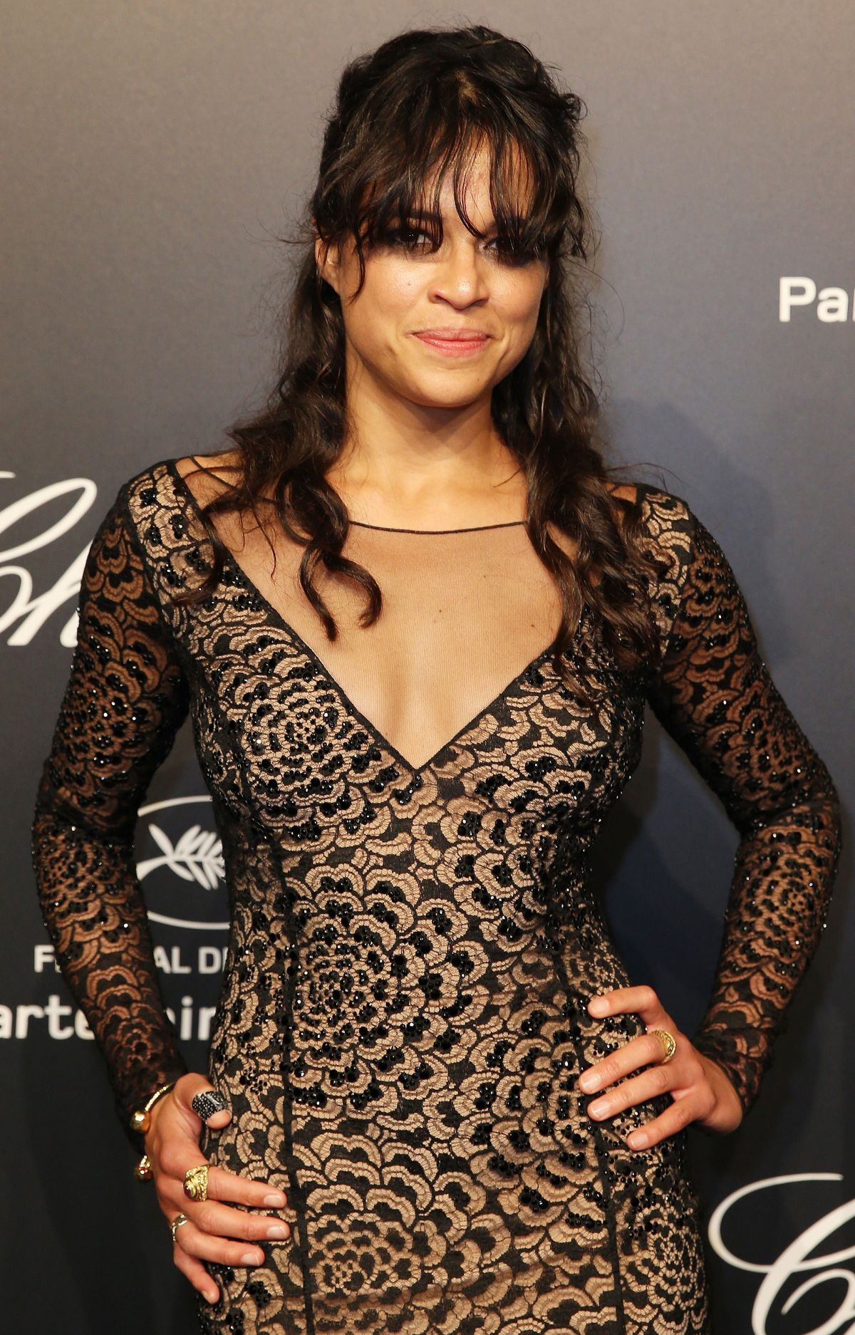 MICHELLE RODRIGUEZ at Soiree Chopard Gold Party in Cannes