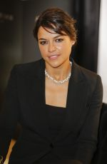 MICHELLE RODRIGUEZ at Swarovski and Hollywood Reporter Dinner at Cannes Film Festival