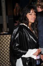 MICHELLE RODRIGUEZ Leaves Gotha Nightclub in Cannes 05/23/2015