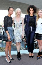 MICHELLE WILLIAMS at Louis Vuitton Cruise 2016 Resort Collection in Palm Springs