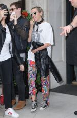 MILEY CYRUS Leaves Her Hotel in New York 05/05/2015