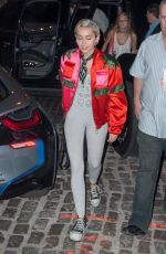 MILEY CYRUS Out and About in New York 05/12/2015