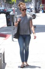 MINKA KELLY in Jeans Out and About in Brentwood 05/21/2015