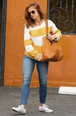 MINKA KELLY in Jeans Out and About in West Hollywood 05/14/2015
