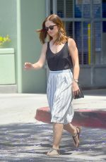MINKA KELLY Out and About in Studio City 05/24/2015