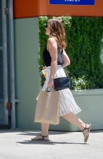 MINKA KELLY Out and About in West Hollywood 04/30/2015