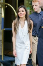 MIRANDA COSGROVE Arrives at Her Hotel in New York 205/29/2015