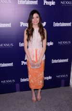 MIRANDA COSGROVE at EW and People Celebrate the NY Upfronts in New York