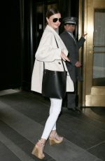 MIRANDA KERR Arrives at Her Hotel in New York 05/04/2015