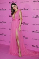 MIRANDA KERR at Magnum Pink and Black Launch at Magnum Beach