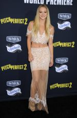 MOLLEE GRAY at Pitch Perfect Premiere in Los Angeles