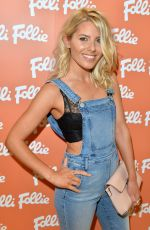 MOLLIE KING at Folli Follie Flagship Store Opening in London