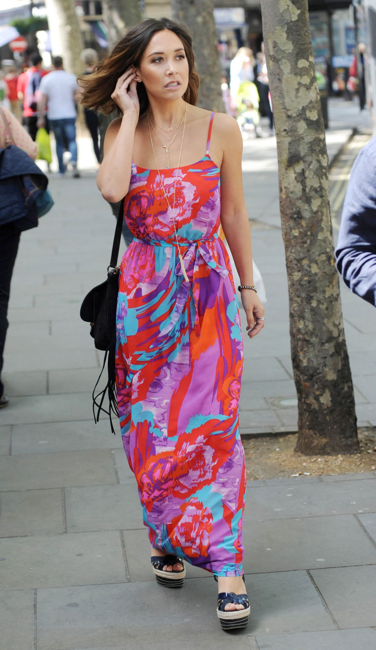 MYLEENE KLASS Out and About in London 05/27/2015