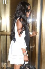 NAOMI CAMPBELL Out and About in New York 05/04/21015