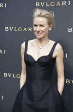 NAOMI WATTS at Bulgari Cocktail Party to Celebrate Boutique Opening in Cannes