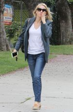 NAOMI WATTS Out and About in Brentwood 05/22/2015