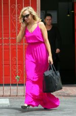 NASTIA LIUKIN Arrives at Dancing with the Star Rehersal in Studio City 05/06/2015