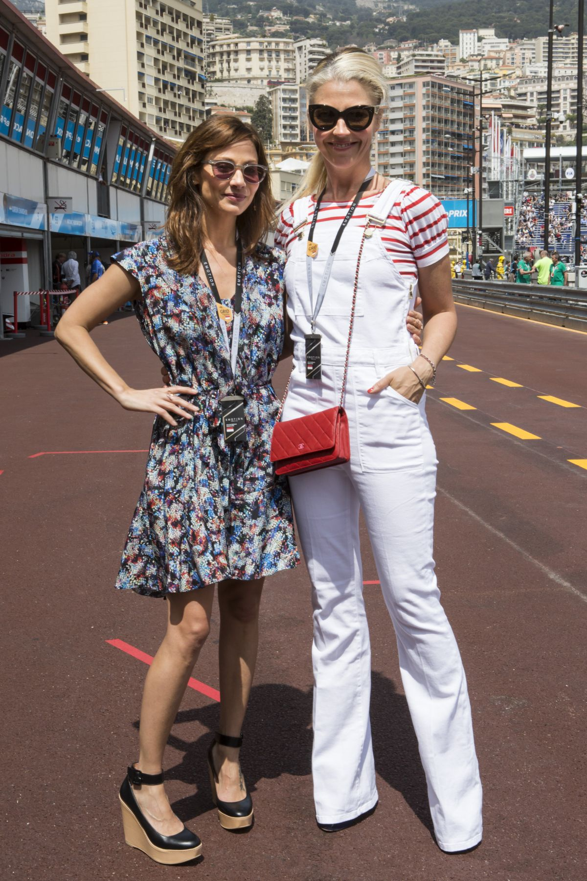 NATALIE IMBRUGLIA at Formula E Monaco Eprix 05/09/2015