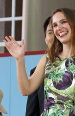 NATALIE PORTMAN at Harvard Campus in Cambridge 05/27/2015