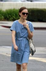 NATALIE PORTMAN Out and About in Los Feliz 05/05/2015