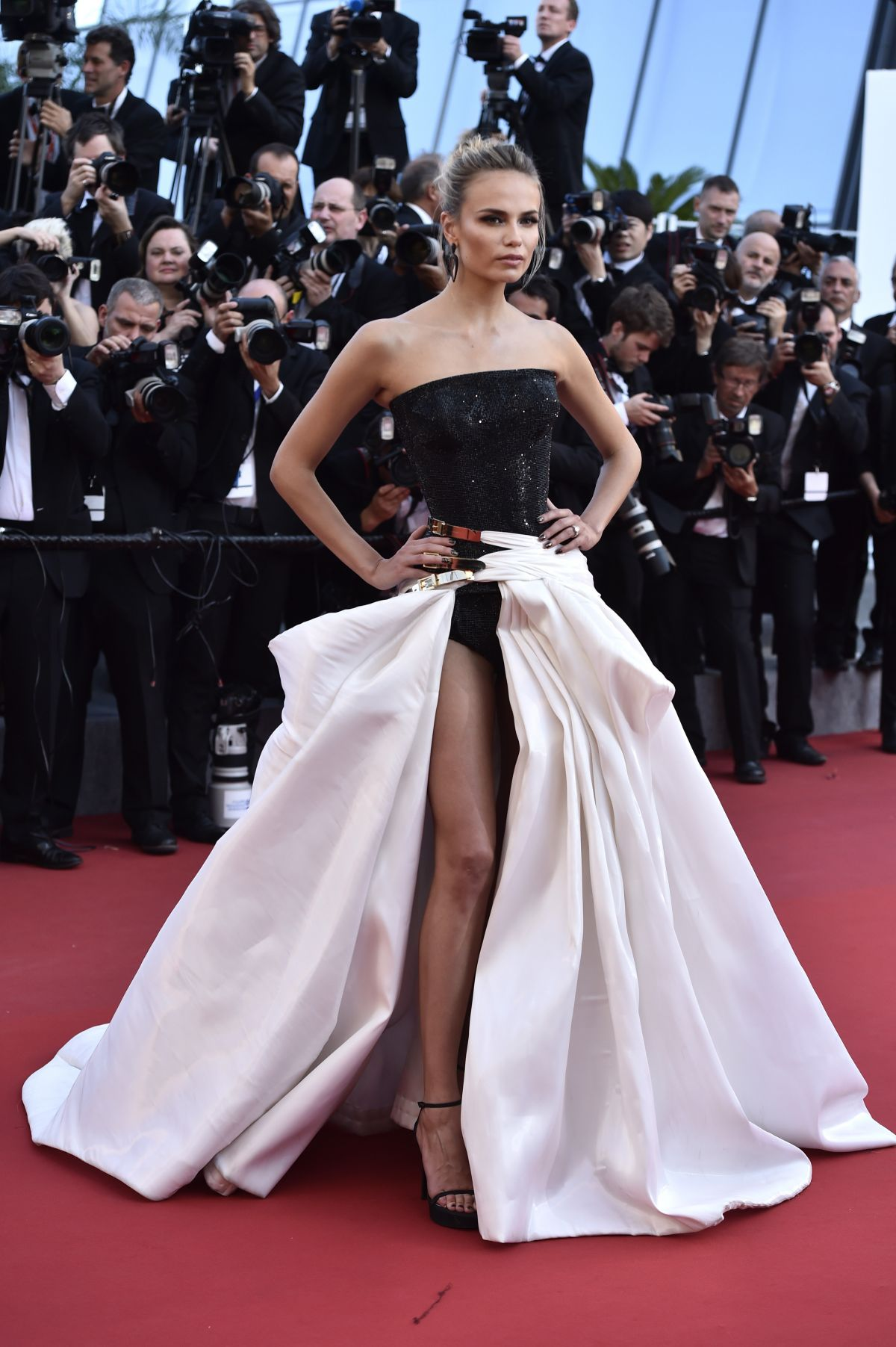 NATASHA POLY at Carol Premiere at Cannes Film Festival