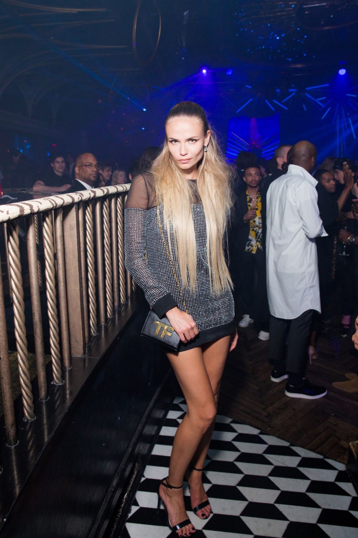 NATASHA POLY at MET Gala After Party in New York