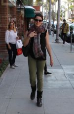NEVE CAMPBELL Out and About in Beverly Hills 05/18/2015