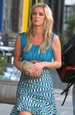 NICKY HILTON Out and About in New York 04/30/2015