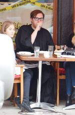 NICOLA PELTZ Out for Lunch in New York 05/06/2015