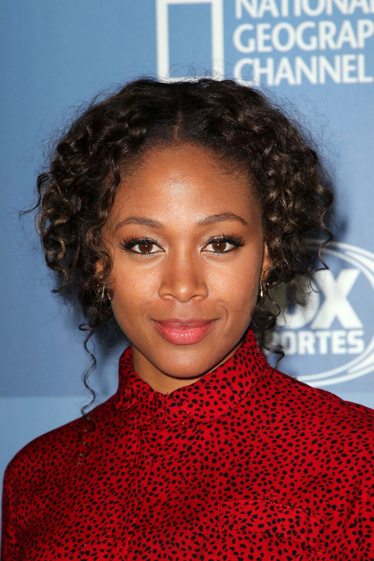 NICOLE BEHARIE at Fox Network 2015 Programming Upfront in ...