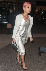 NICOLE RICHIE Arrives at Polo Bar in New York 04/30/2015
