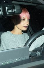 NICOLE RICHIE Driving Car Out in Los Angeles 05/27/2015