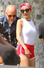 NICOLE RICHIE Out and About in Los Angeles 05/21/2015