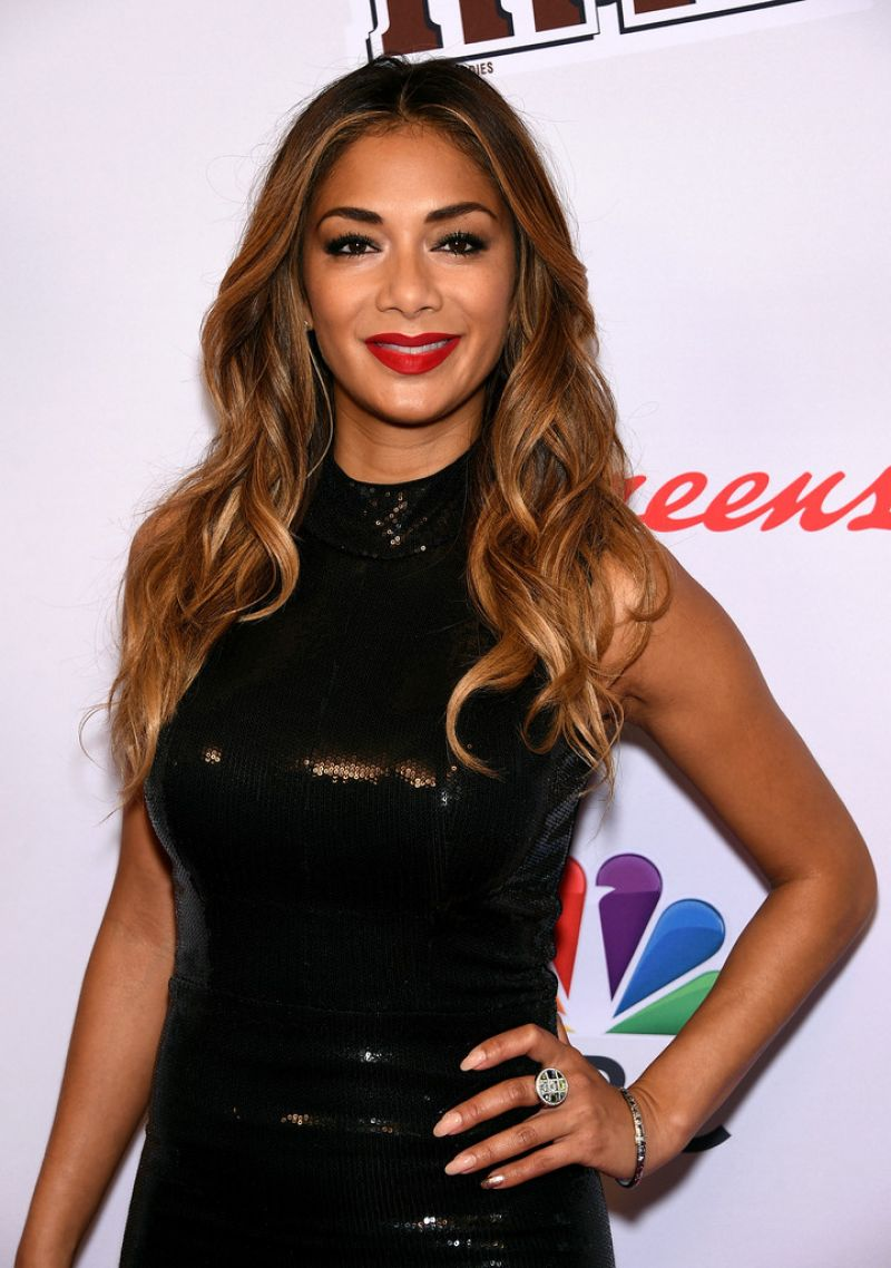 NICOLE SCHERZINGER at Red Nose Day Charity Event in New York ... Nicole Scherzinger