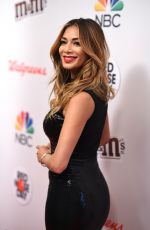 NICOLE SCHERZINGER at Red Nose Day Charity Event in New York