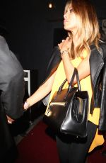 NICOLE SCHERZINGER Leaves Warwick Nightclub in Los Angeles 05/15/2015