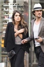 NIKKI REED and Ian Somerhalder Out and About in Paris 05/22/2015