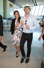 NIKKI REED Arrives at Airport in Cannes 05/22/2015