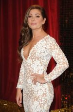 NIKKI SANDERSON at British Soap Awards in Manchester