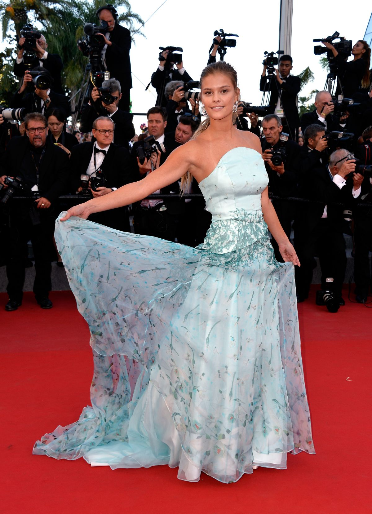 NINA AGDAL at Inside Out Premiere at Cannes Film Festival
