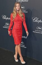 NINA AGDAL at Soiree Chopard Gold Party in Cannes