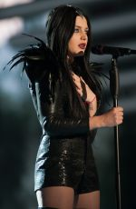 NINA SUBLATTI Performs at Eurovision Song Contest in Vienna