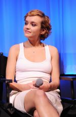 OLIVIA COOKE at Official Academy Screening of Me and Earl and the Dying Girl in New York